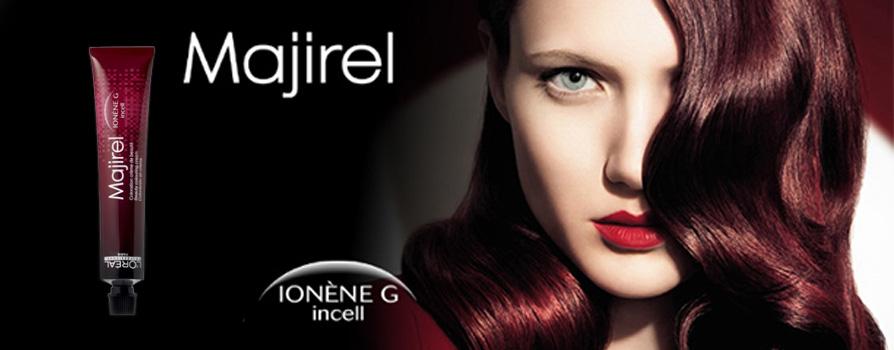 Краска для волос Majirel (Мажирель) палитра, состав, инструкция