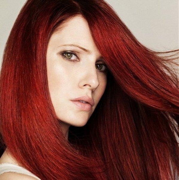 2 - Бордовый цвет волос: оттенки, фото, краска, как покраситься