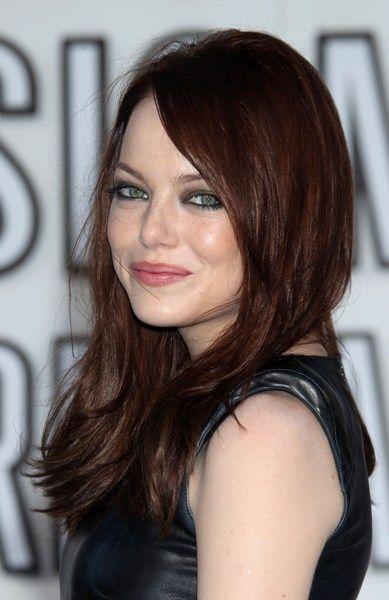 стоун - Бордовый цвет волос: оттенки, фото, краска, как покраситься