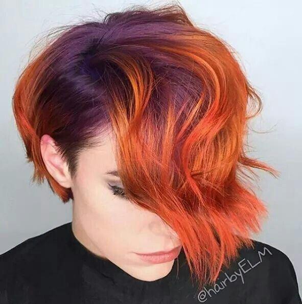 a07de9841672d54466ffbac632e85201 - Бордовый цвет волос: оттенки, фото, краска, как покраситься