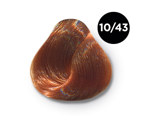10 43 - Краска для волос Оллин, цвета, состав, инструкция