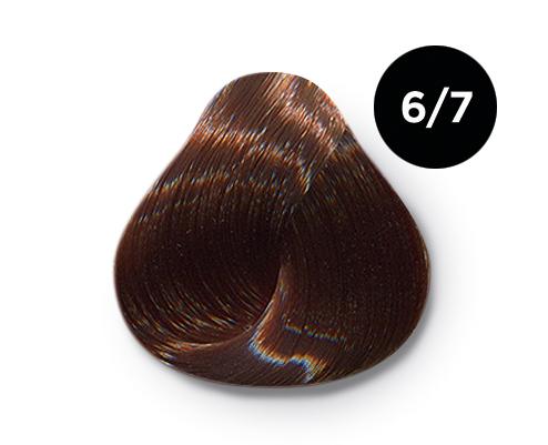 6 7 - Краска для волос Оллин, цвета, состав, инструкция