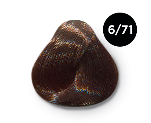 6 71 - Краска для волос Оллин, цвета, состав, инструкция
