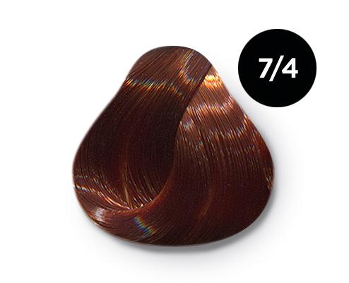 7 4 - Краска для волос Оллин, цвета, состав, инструкция
