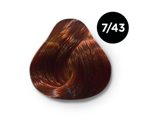 7 43 1 - Краска для волос Оллин, цвета, состав, инструкция