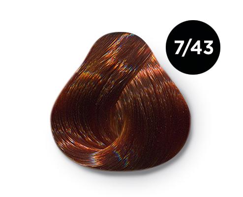 7 43 - Краска для волос Оллин, цвета, состав, инструкция