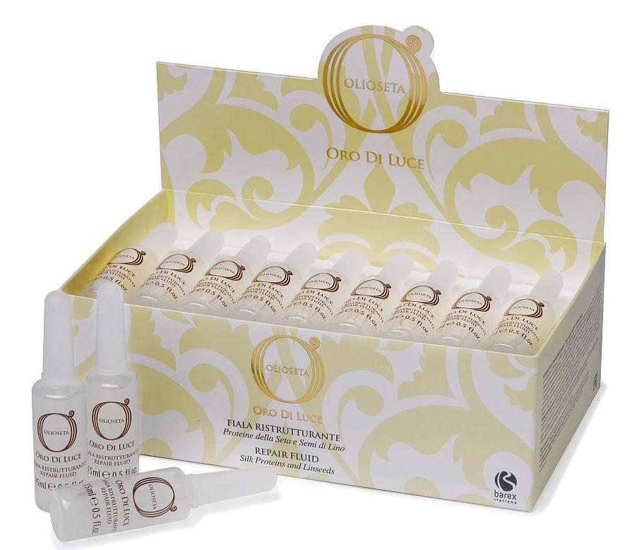 Olioseta Oro Di Luce - Топ 15 ампул для волос