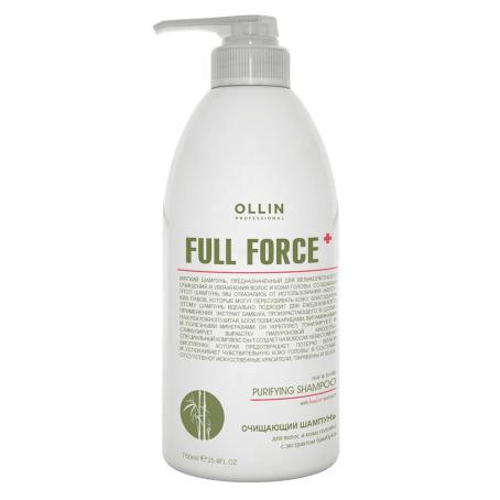 и†ђѓг≠м copy 454x454 - Очищающий шампунь для волос и кожи головы Olllin Full Force с экстрактом бамбука, 250мл/ 650 мл