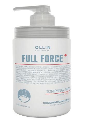 Тонизирующая маска  с экстрактом пурпурного женьшеня Olllin Full Force 250мл/ 650 мл