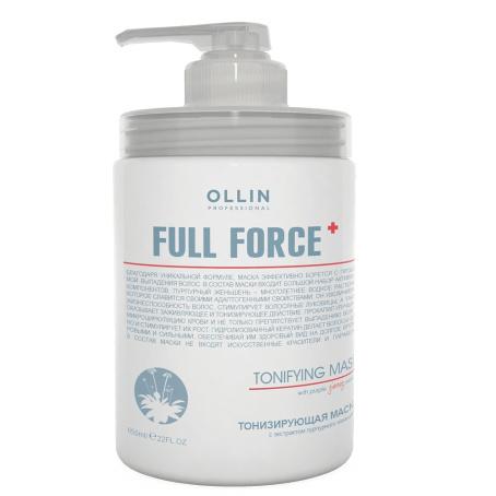 Тонизирующая маска Ollin full force с экстрактом пурпурного женьшеня 650мл