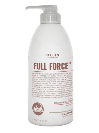 Интенсивный восстанавливающий шампунь с маслом кокоса (Intensive restoring shampoo with coconut oil) Full force, 300 мл|750 мл