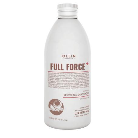 и†ђѓг≠м 02 454x454 - Интенсивный восстанавливающий шампунь с маслом кокоса (Intensive restoring shampoo with coconut oil) Full force, 300 мл|750 мл