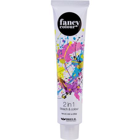 Обесцвечивающее средство и крем краска 2 в 1 FANCY COLOUR, 80 гр