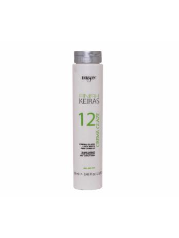 глазурь для гладких. кудрявых волос.crema glaze 12 348x464 - Глазурь для гладких/кудрявых волос FINISH CREMA GLAZE 12, 250мл