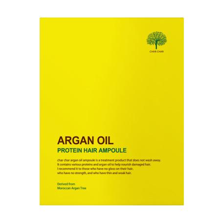 НАБОР Сыворотка для волос ВОССТАНОВЛЕНИЕ АРГАНОВОЕ МАСЛО Argan Oil Protein Hair Ampoule, 5 шт 15 мл
