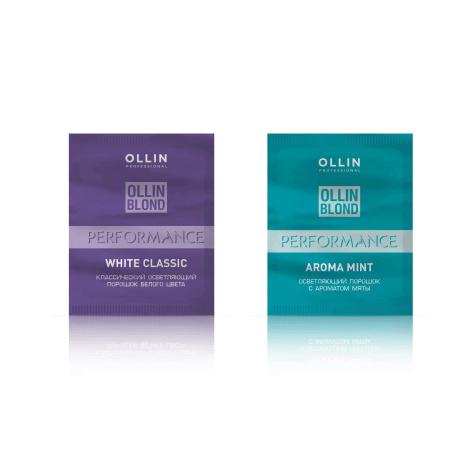 Осветляющий порошок классический Ollin Blond Performance White Classic, 30 гр