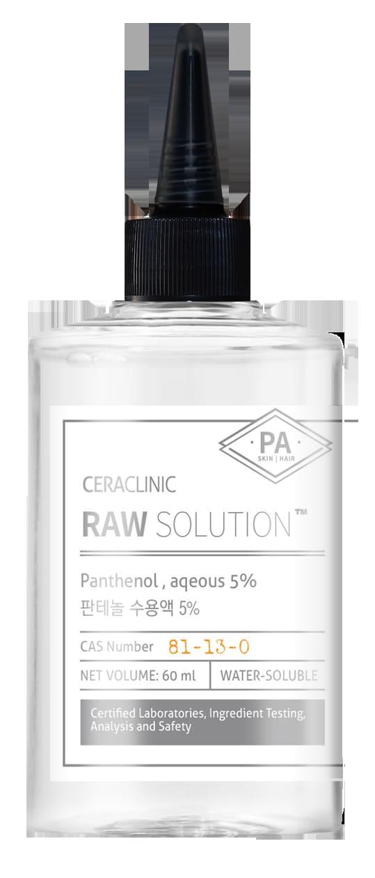 сыворотка ПАНТЕНОЛ Raw Solution Panthenol aqeous 5 60 мл - Универсальная сыворотка с пантенолом Raw Solution Panthenol, 5%, 60 мл