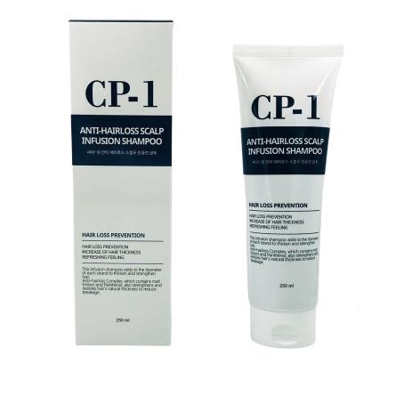 Оздоравливающий шампунь против выпадения волос CP-1 Anti-hair loss scalp infusion shampoo, 250 мл