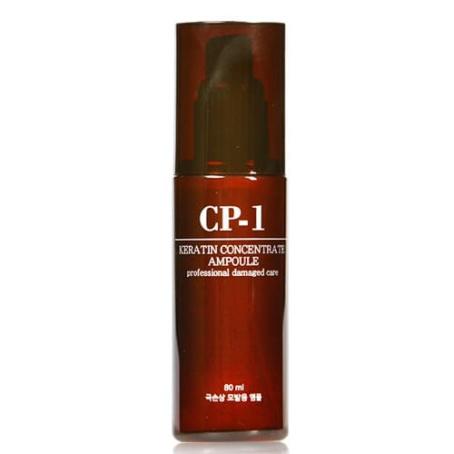 Эссенция в ампулах концентрированная с кератином для сухих волос CP-1Keratin Concentrate Ampoule, 80мл
