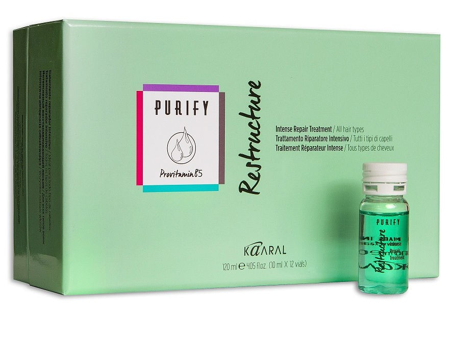 purify structure - Топ 15 ампул для волос
