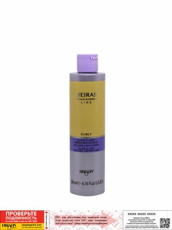 Глазурь  для волос KEIRAS GLAZE FOR CURLY AND WAVY HAIR, 200мл
