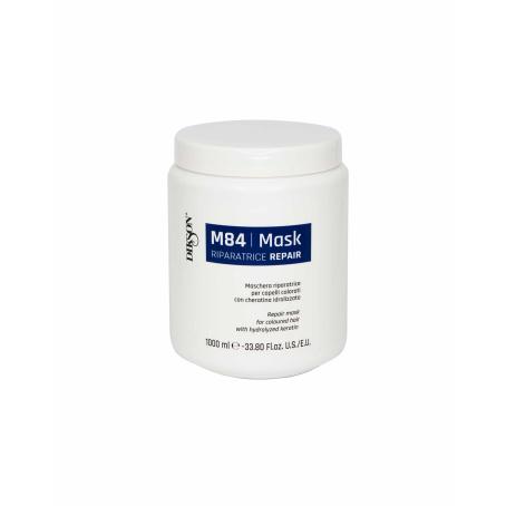 Маска восстанавливающая для окрашенных волос с гидролизированным кератином DIKSON MASK R REPAIR M84, 1000мл