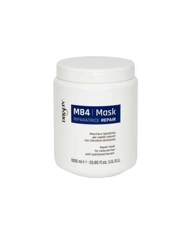 m84 - Маска восстанавливающая для окрашенных волос с гидролизированным кератином (MASK R REPAIR M84), 1000мл