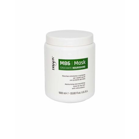 Увлажняющая и питательная маска для сухих волос с протеинами молока DIKSON MASK NOURISHING M86, 1000мл