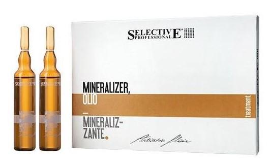 ампульное масло selective Professional Olio Mineralizer 1 - Топ 15 ампул для волос