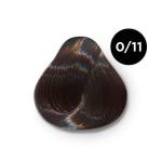 Ollin Color 0.11 корректор пепельный, 60 мл/100 мл. Перманентная крем краска для волос