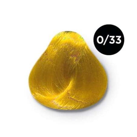 0 33 крем краска Ollin color 454x454 - Ollin Color 0.33 корректор желтый, 60 мл/100 мл. Перманентная крем краска для волос