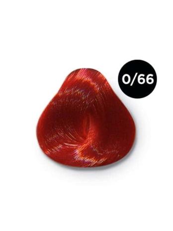 Ollin Color 0.66 корректор красный, 60 мл/100 мл. Перманентная крем краска для волос