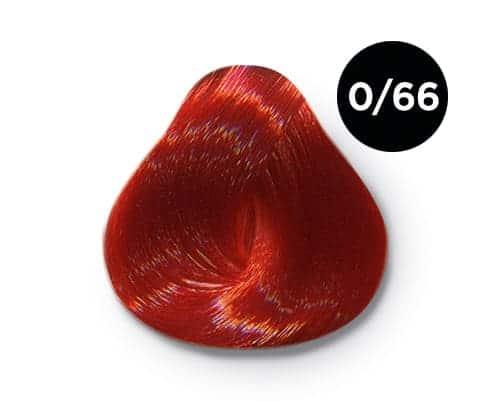 0 66 крем краска Ollin color - Ollin Color 0.66 корректор красный, 60 мл/100 мл. Перманентная крем краска для волос