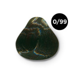 Ollin Performance 0.99- зеленый. Перманентная стойкая крем-краска с комплексом VIBRA RICHE, 60 мл