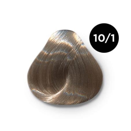 10 1крем краска Ollin color 454x454 - Ollin Color 10.1 светлый блондин пепельный, 60 мл/100 мл. Перманентная крем краска для волос