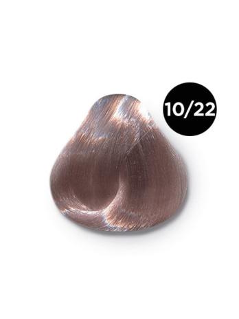 Ollin Performance  10.22 светлый блондин фиолетовый. Перманентная стойкая крем-краска с комплексом VIBRA RICHE, 60 мл