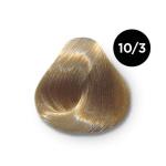 Ollin Performance 10.3 светлый блондин золотистый. Перманентная стойкая крем-краска с комплексом VIBRA RICHE, 60 мл