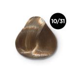 Ollin Color 10.31 светлый блондин золотисто пепельный, 60 мл/100 мл. Перманентная крем краска для волос