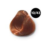 Ollin Color 10.43 светлый блондин медно золотистый, 60 мл/100 мл. Перманентная крем краска для волос