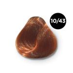 Ollin Performance 10.43 светлый блондин медно-золотистый. Перманентная стойкая крем-краска с комплексом VIBRA RICHE, 60 мл