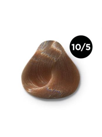 Ollin Silk Touch 10.5 светлый блондин махагоновый 60 мл. Безаммиачный стойкий краситель для волос