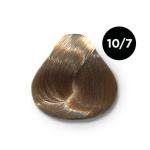 Ollin Silk Touch 10.7 светлый блондин коричневый 60 мл. Безаммиачный стойкий краситель для волос