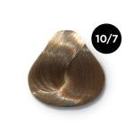 Ollin Color 10.7 светлый блондин коричневый, 60 мл/100 мл. Перманентная крем краска для волос