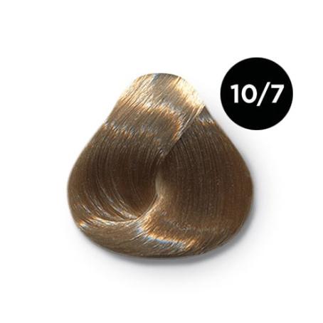 10 7 copy 454x454 - Ollin Color 10.7 светлый блондин коричневый, 60 мл/100 мл. Перманентная крем краска для волос