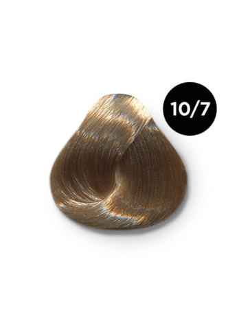 Ollin Performance 10.7 светлый блондин коричневый. Перманентная стойкая крем-краска с комплексом VIBRA RICHE, 60 мл