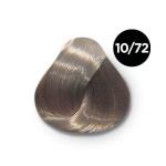 Ollin Silk Touch 10.72 светлый блондин коричнево фиолетовый 60 мл. Безаммиачный стойкий краситель для