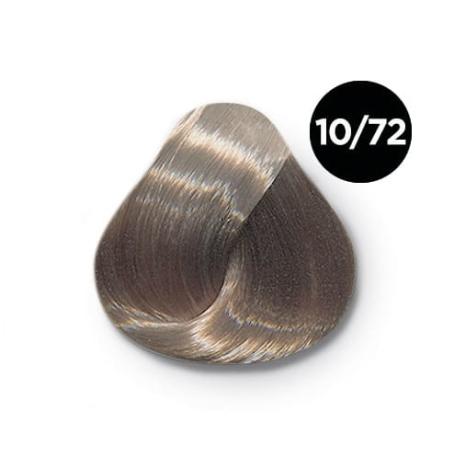 10_72 Ollin silk touch перманентная крем краска