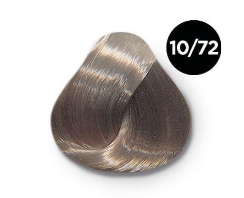 10 72 Ollin silk touch перманентная крем краска - Ollin Silk Touch 10.72 светлый блондин коричнево фиолетовый 60 мл. Безаммиачный стойкий краситель для