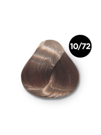 Ollin Performance 10.72 светлый блондин коричнево-фиолетовый. Перманентная стойкая крем-краска с комплексом VIBRA RICHE, 60 мл