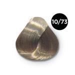 Ollin Silk Touch 10.73 светлый блондин коричнево золотистый 60 мл. Безаммиачный стойкий краситель для
